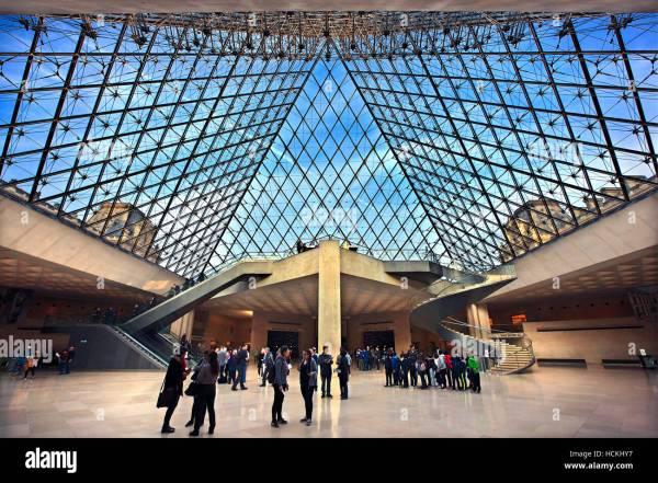 Glass Pyramid Stock &
