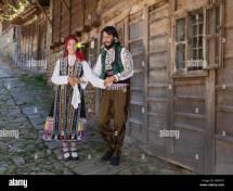Bulgarian Dance Stock &