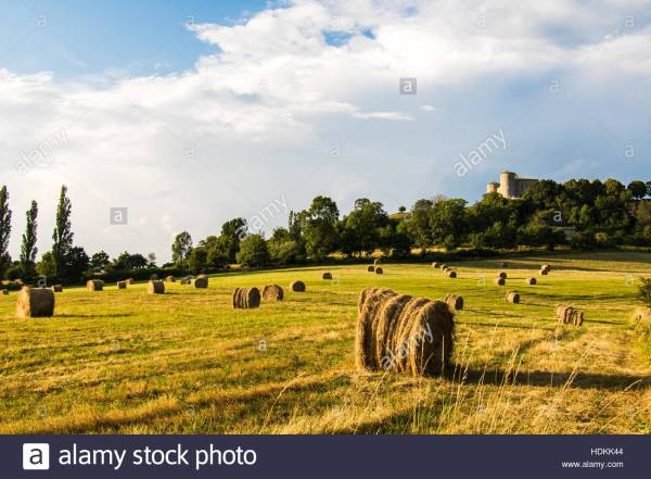 French Countryside In Provence Dieulefit Drome Nice France Stock 128895204 - Alamy