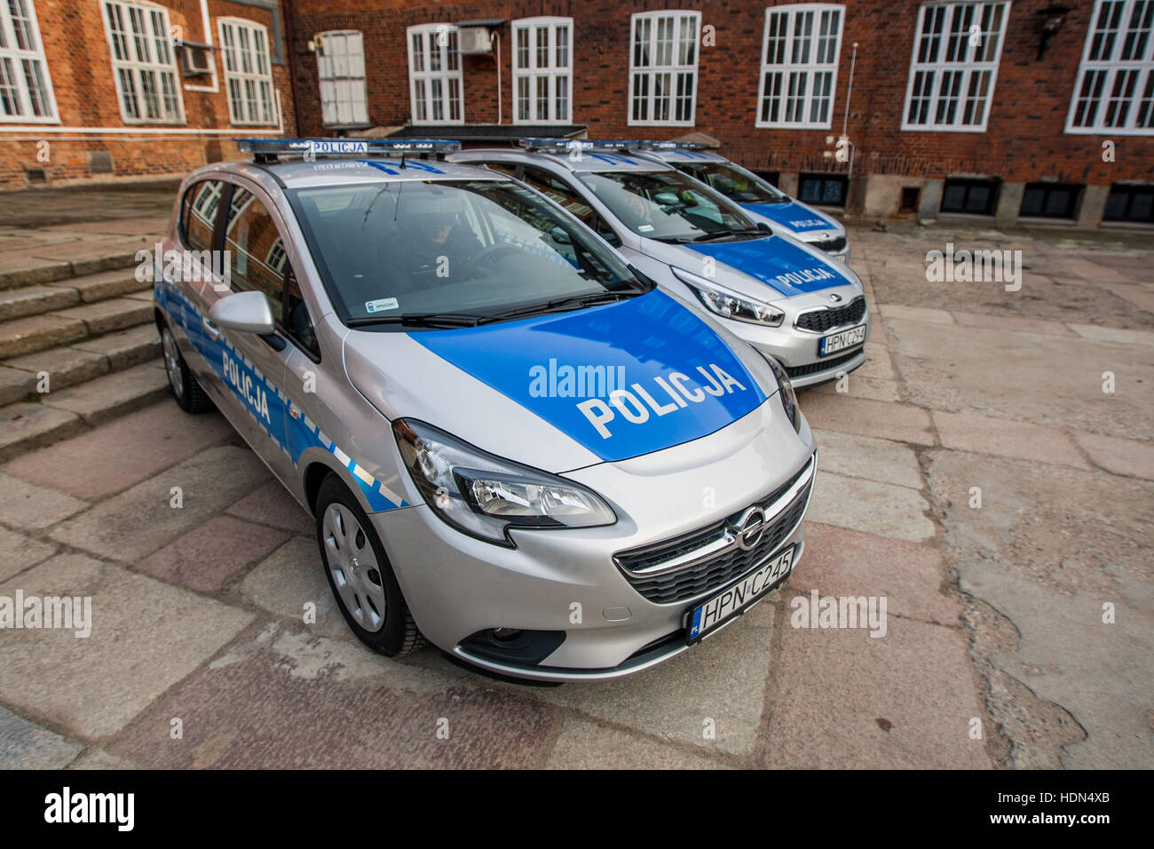 hight resolution of opel corsa police car is seen three new cars and new drugs analyser start operating in pomeranian police cars and laboratory machine was bought by the