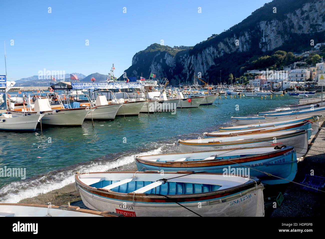 Marina Grande Amalfi Stock Photos  Marina Grande Amalfi Stock Images  Alamy