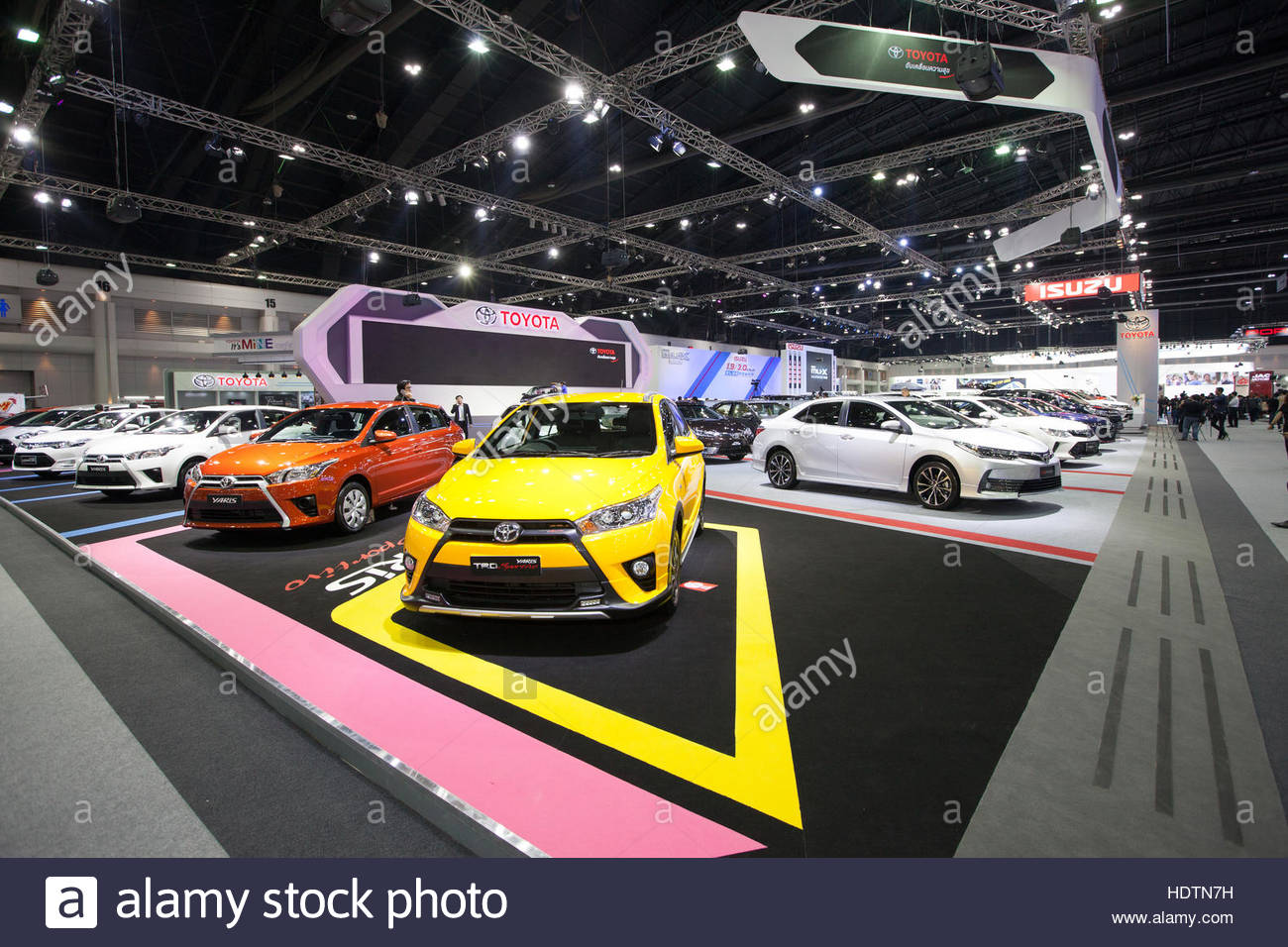 new yaris trd modifikasi all sportivo bangkok november 30 toyota car on display at motor expo 2016 in thailand