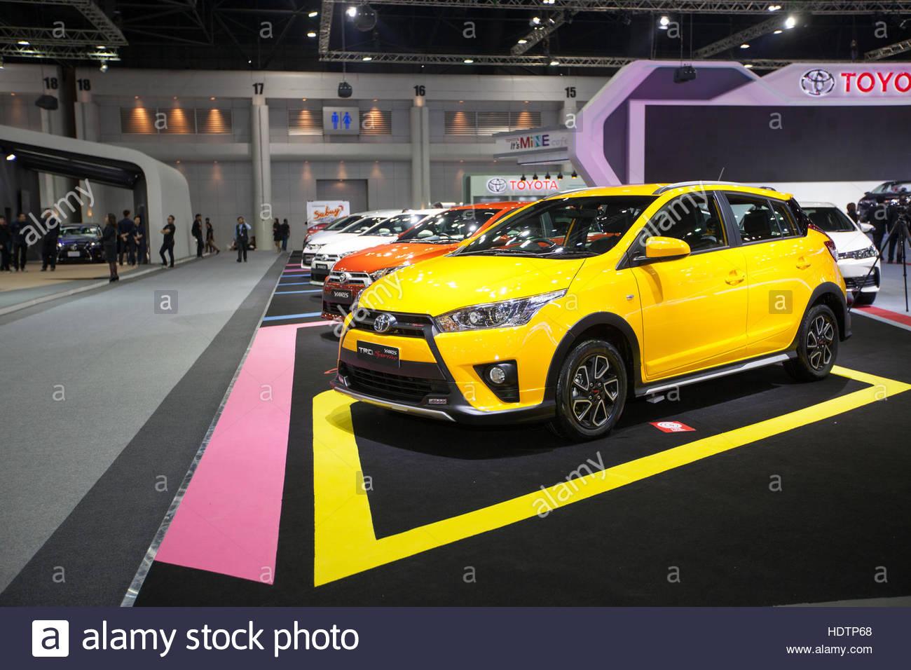 all new toyota yaris trd sportivo 2018 body kit grand veloz bangkok november 30 car on display at motor expo 2016 in thailand