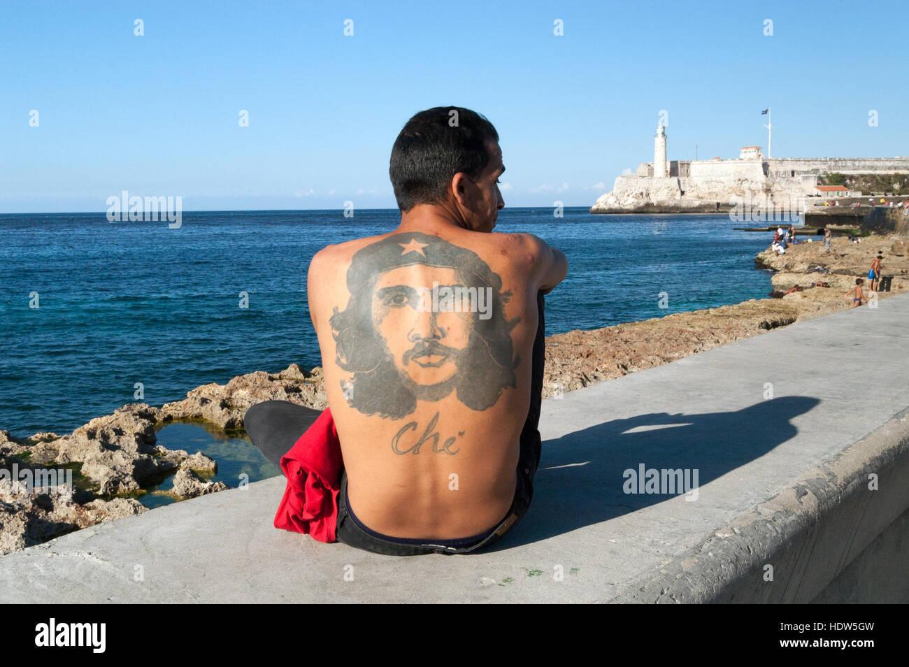 Mike Tyson Tattoo Che Guevara