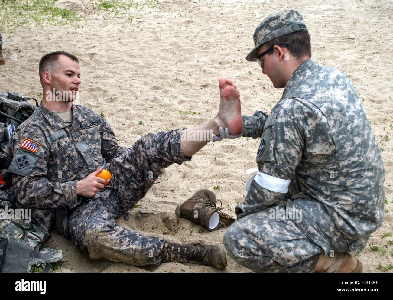 Sgt Jedediah Hewson left from Mesa Ariz a human