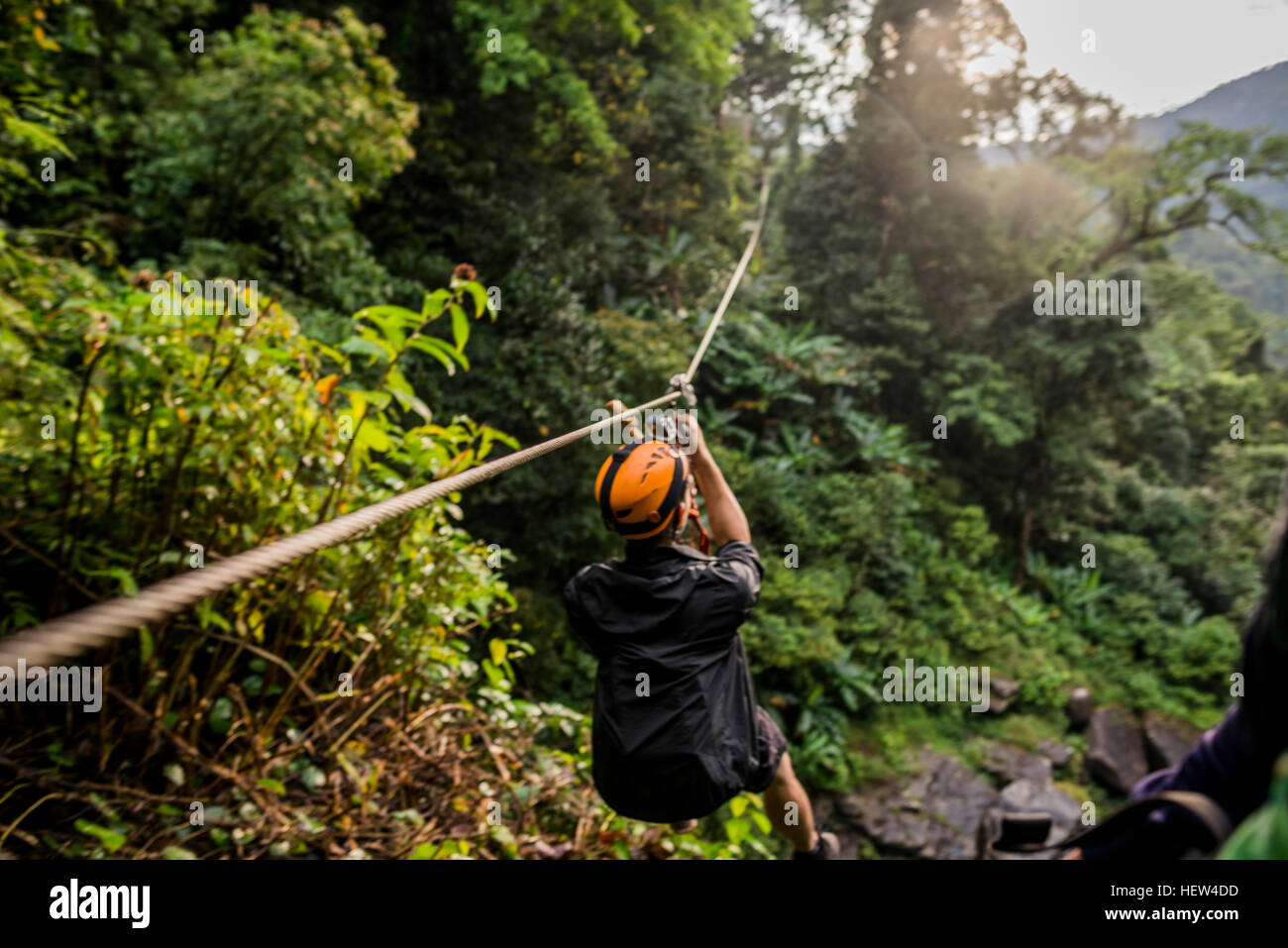 4 man zip wire wales 2006 honda civic hybrid wiring diagram on stock photos and images alamy