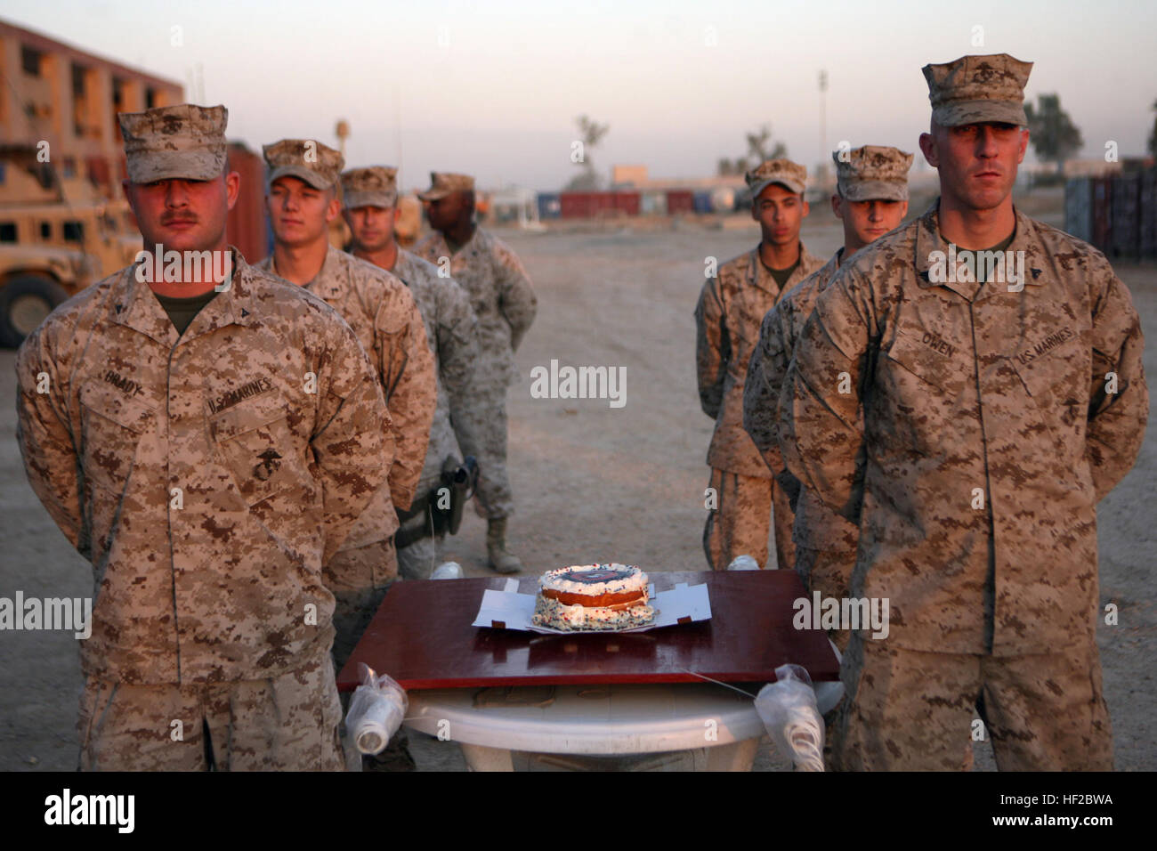 Camp Ramadi Iraq Marines Of 2nd Battalion 9th Marine