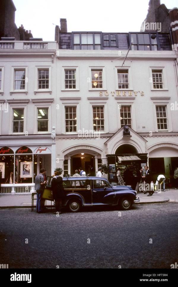Sothebys London England 2005 Auction House Famous