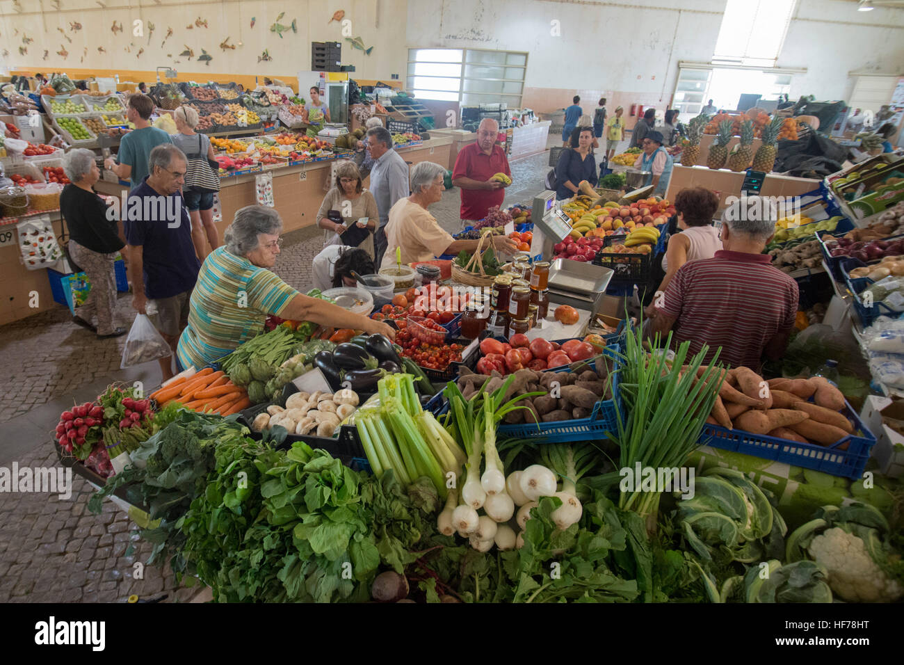lidl fishing chair bunjo target algarve food stock photos and images alamy