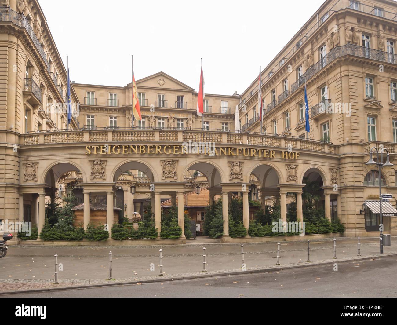Steigenberger Frankfurter Hof Luxury Hotel Accommodation In