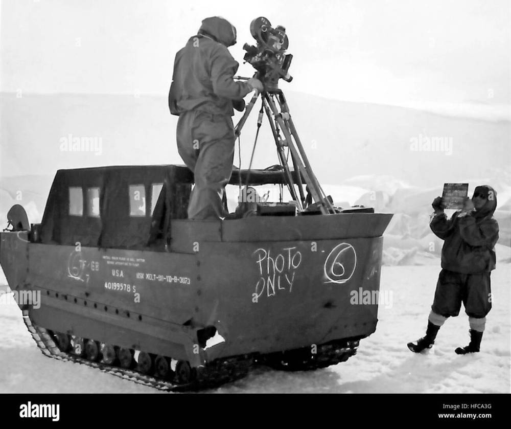 medium resolution of m29 weasel with camera in antarctica c1947