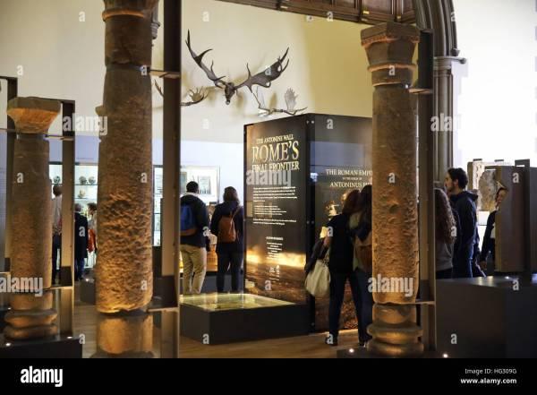 Hunterian Museum Glasgow Stock &