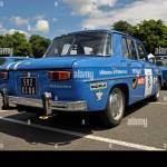 Renault Gordini Team Cars At The Historic Grand Prix Bressuire France Stock Photo Alamy