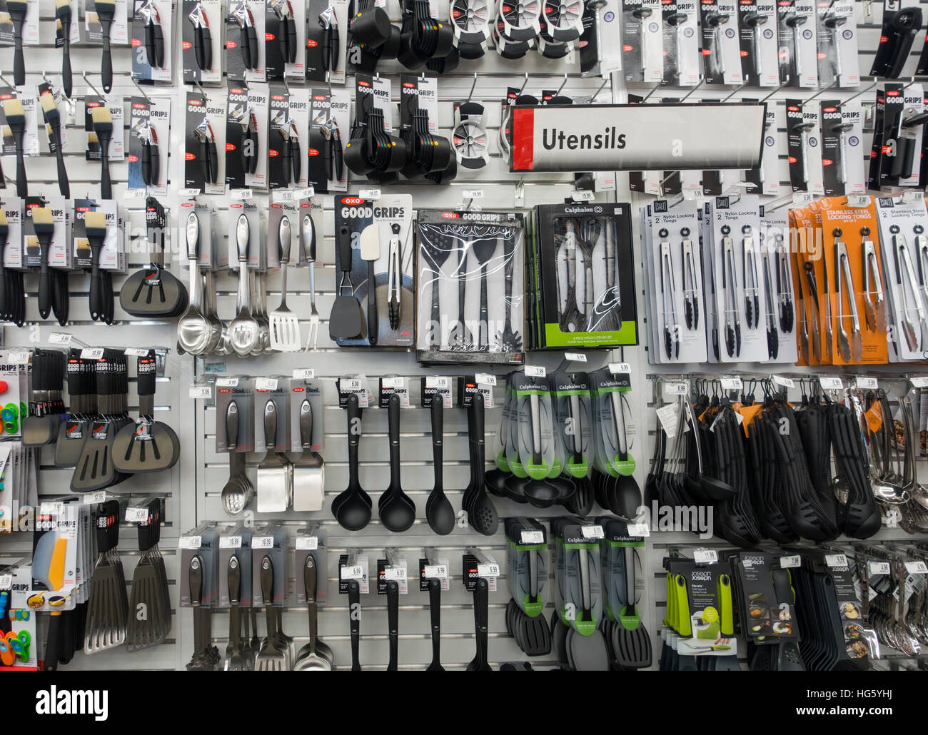 oxo kitchen utensils outdoor houston target store stock photo 130438494 alamy