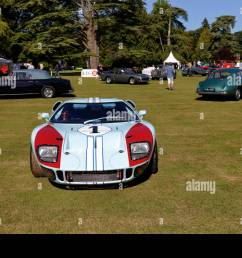 a ford gt40 endurance racing car at the wilton classic supercar show wilton house [ 1300 x 956 Pixel ]