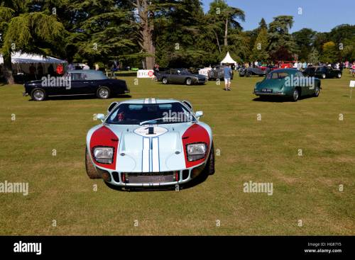 small resolution of a ford gt40 endurance racing car at the wilton classic supercar show wilton house
