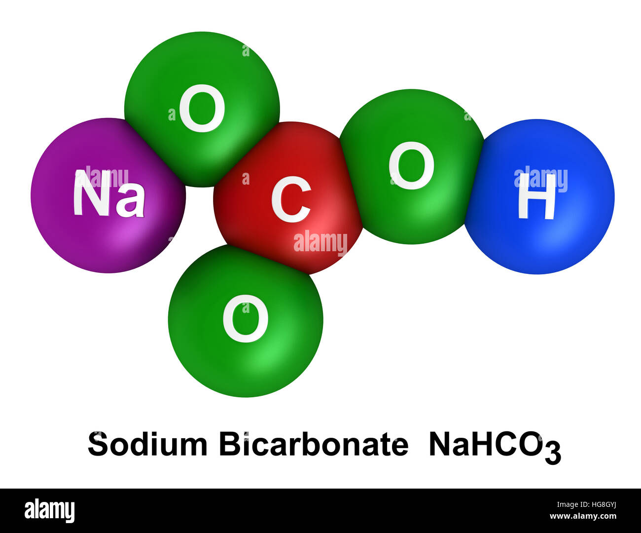 sodium atom diagram electrical wiring diagrams symbols 3d render of molecular structure bicarbonate