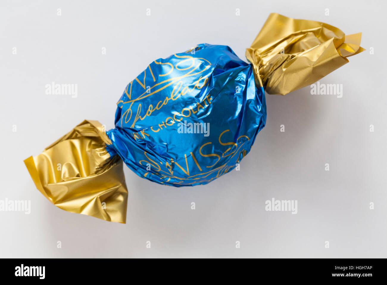 Swiss Milk Chocolate Truffle From Tin Of M Amp S Swiss
