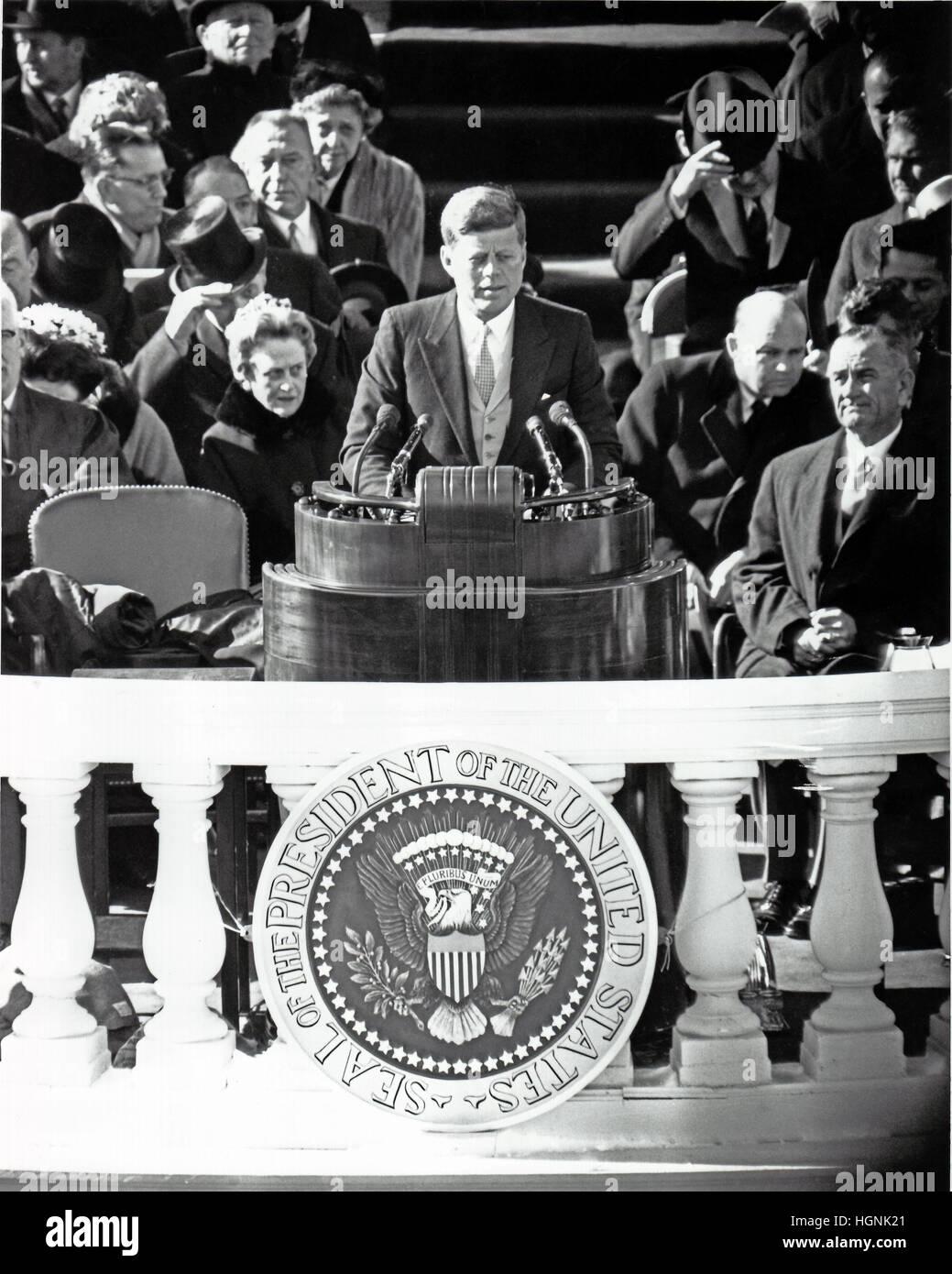 John Kennedy Inauguration Stock Photos Amp John Kennedy