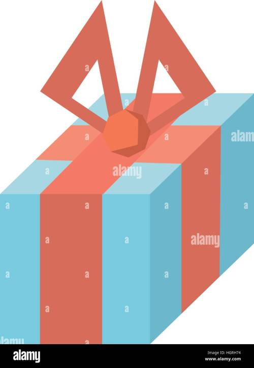 small resolution of gift box decoration traditional bow vector illustration eps 10