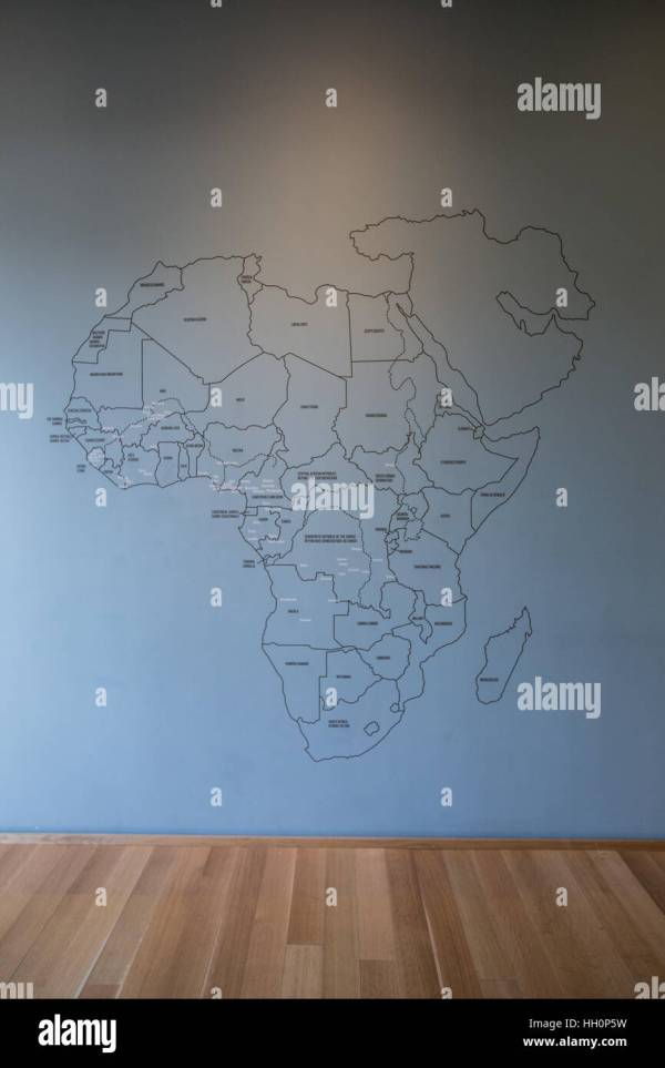 Africa Map Stock & - Alamy