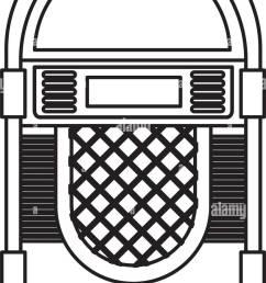jukebox audio isolated icon vector illustration design stock vector [ 821 x 1390 Pixel ]