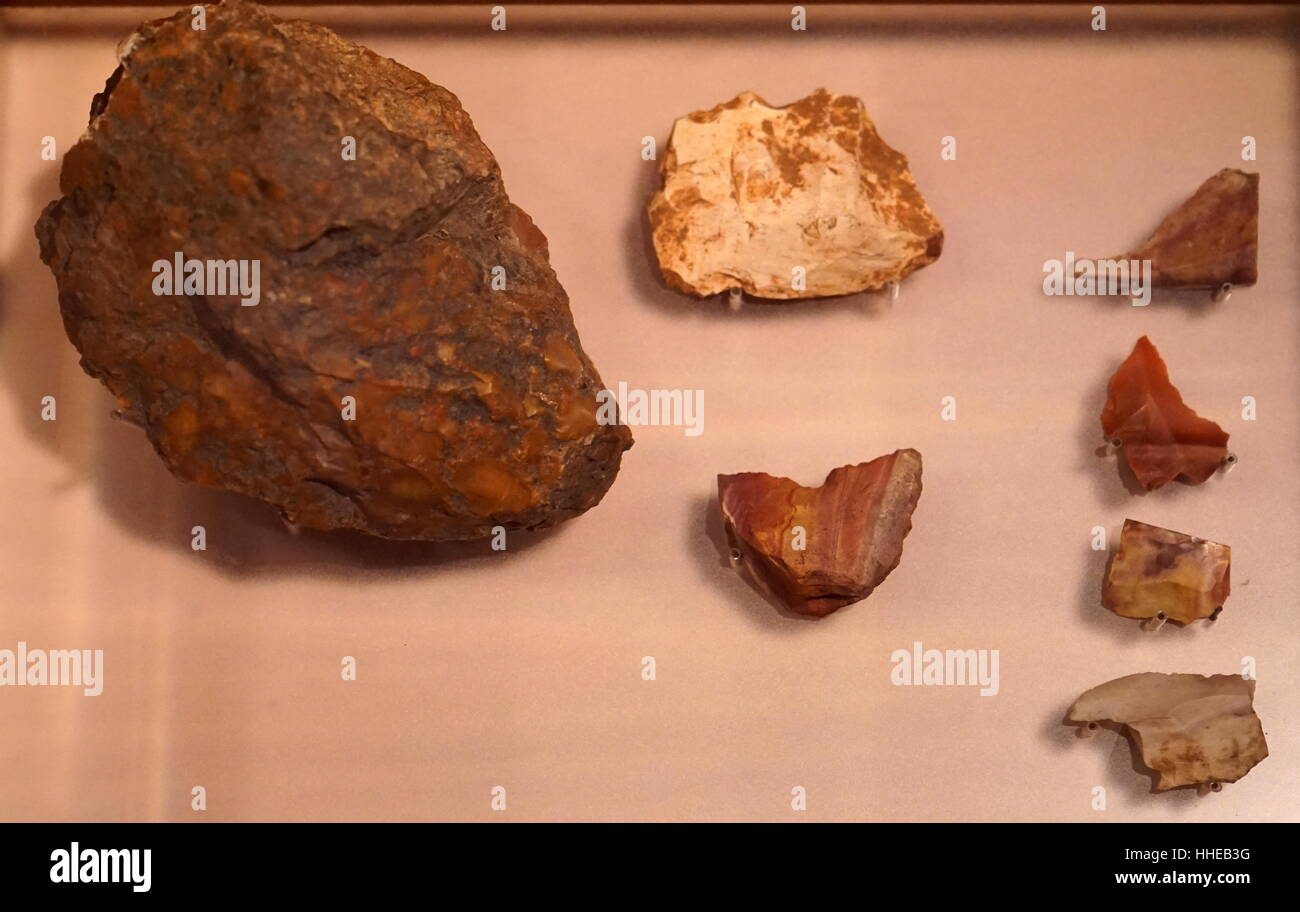 Neolithic Or New Stone Age Stone Tools Found Near