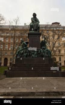 Beethoven Statue Vienna Austria Stock &