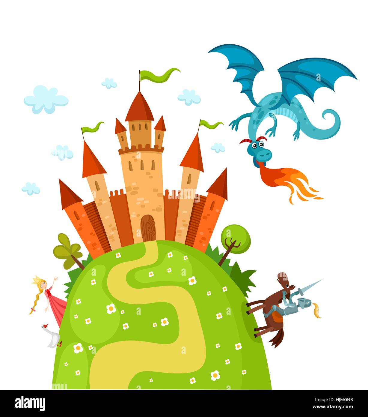 Battle Room Dragon Castle Child Children Kids