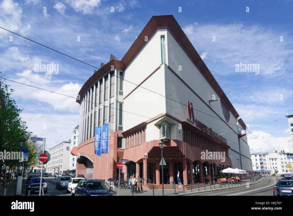 Museum Of Modern Art Frankfurt Stock &