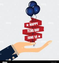 american flag day 14 of june flag day vector illustration  [ 1235 x 1390 Pixel ]