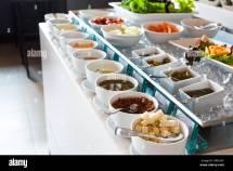 Table Set Continental Breakfast Stock