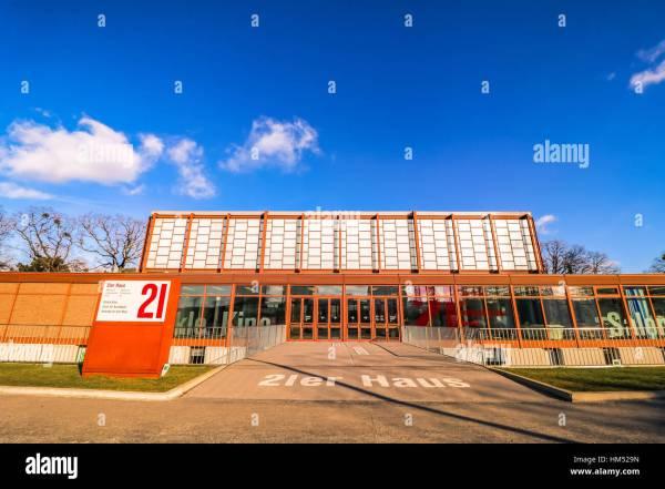 """21er Haus"" Museum Of Contemporary Art In Vienna"