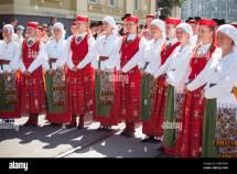 Tallinn Estonia - 04 Jul 2014 People In Estonian