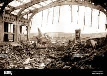 Bomb Damage Britain World War Two Stock &