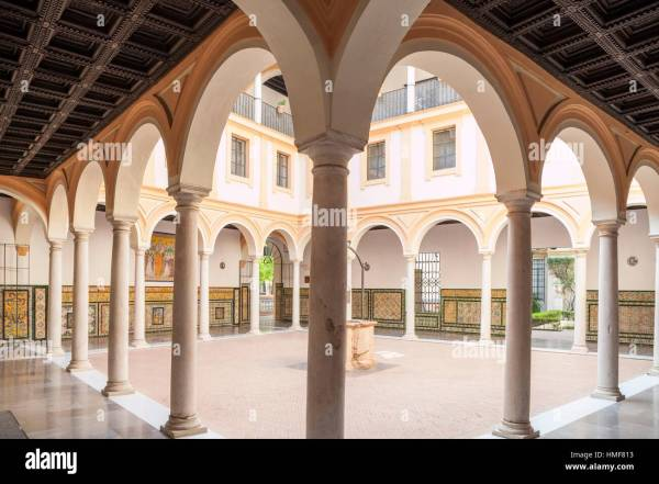 Museum Of Fine Arts Seville Stock & - Alamy