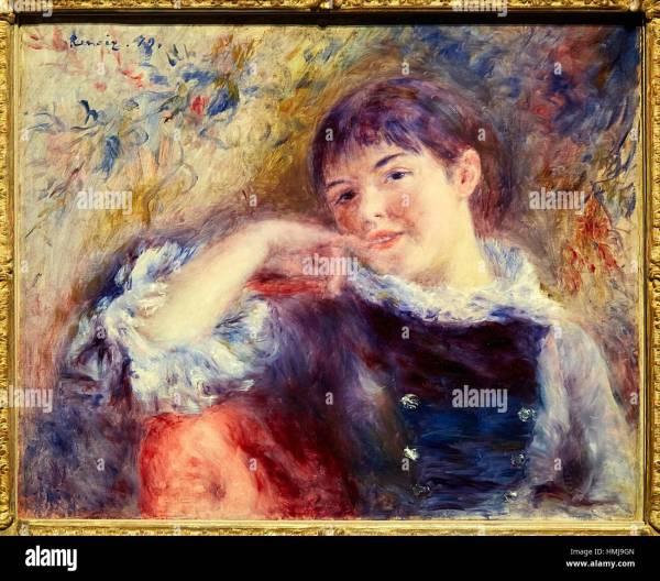 The Swing by Pierre-Auguste Renoir