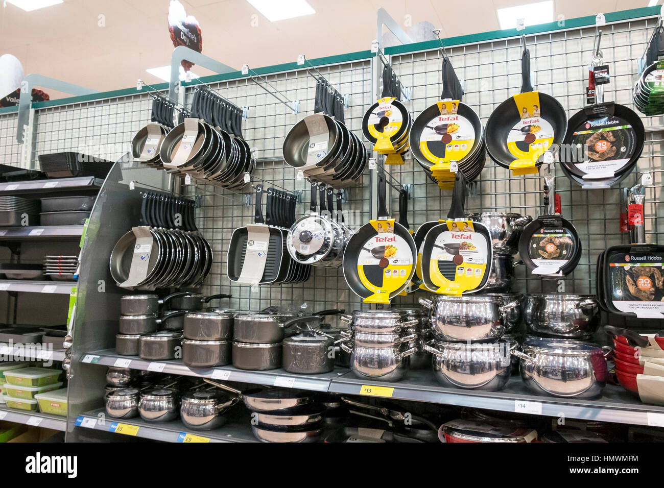 kitchen utensils store sink without cabinet a display of on sale inside morrisons