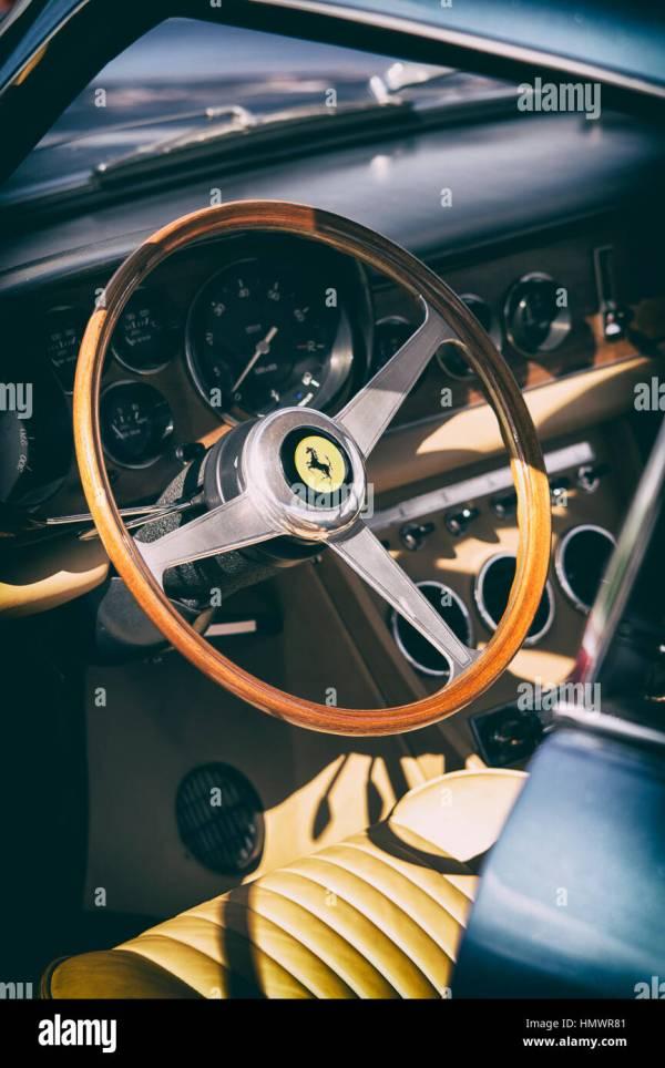 Vintage Ferrari Stock & - Alamy