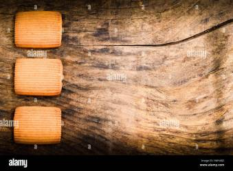 bisquits on wooden background for breakfast menu Stock Photo Alamy