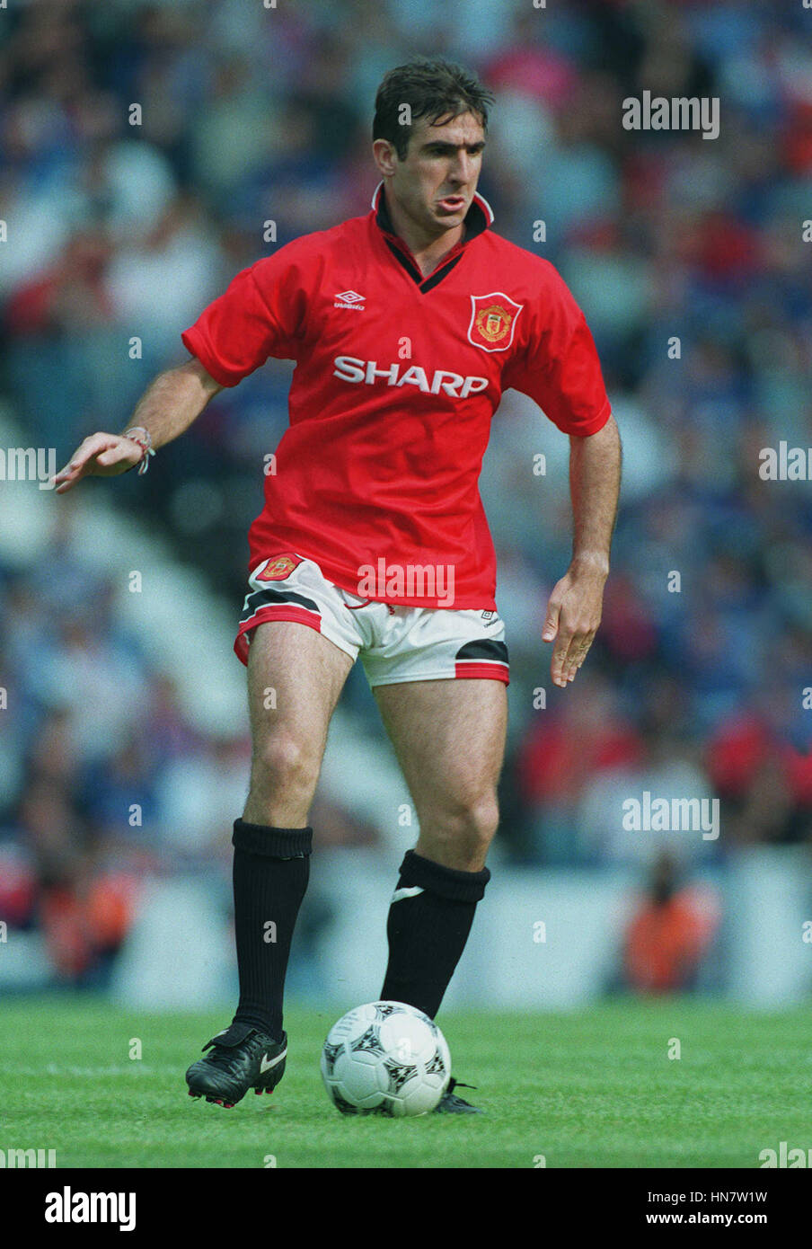 Manchester united legend eric cantona is encouraging fans to register to buy shares in the club as part of a new campaign working with the. ERIC CANTONA MANCHESTER UNITED FC 08 August 1994 Stock ...