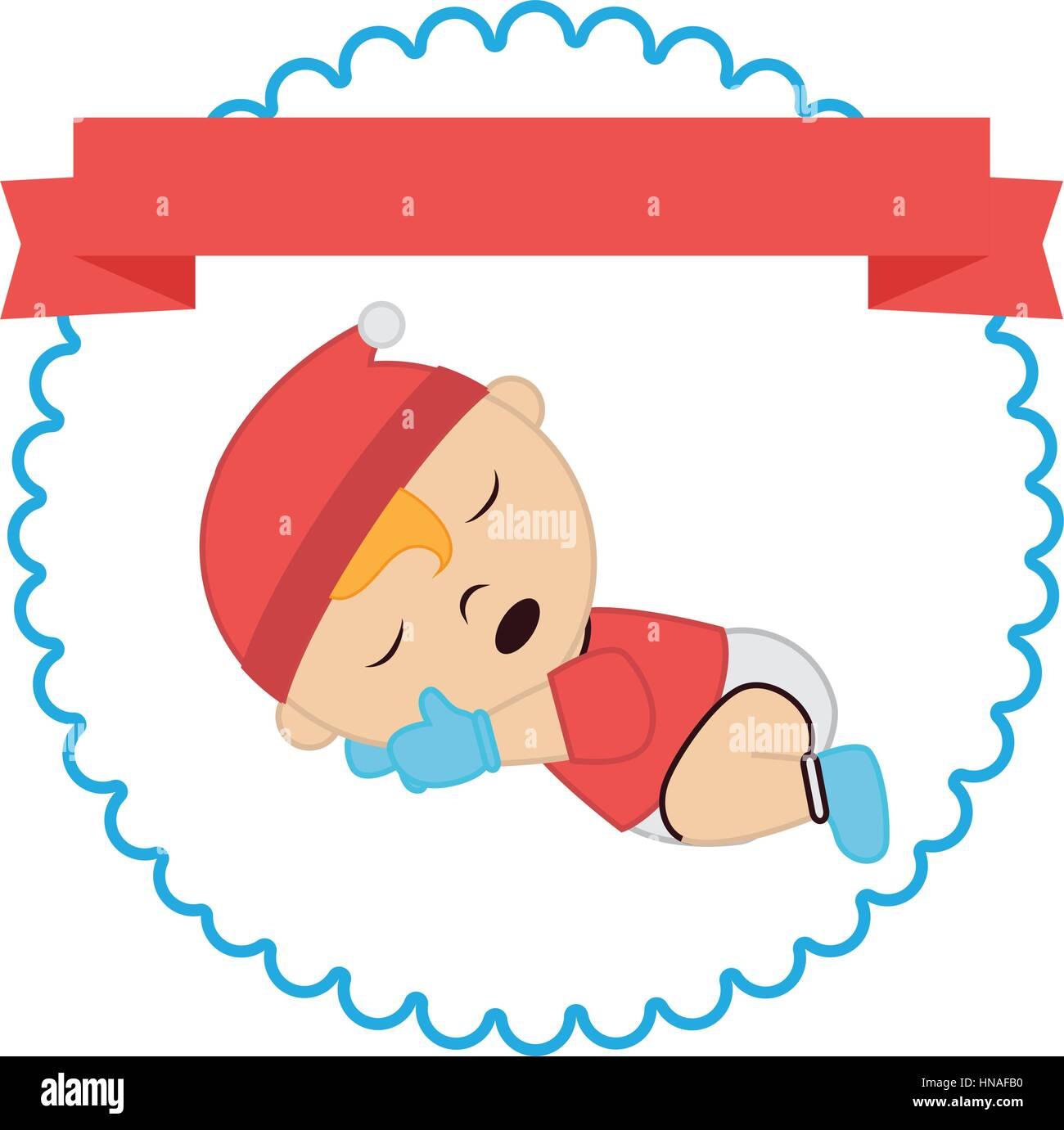 border label sleep baby