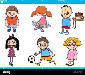 cartoon characters children age cartoons alamy vector shutterstock boys covid virus masks theme bags illustrations