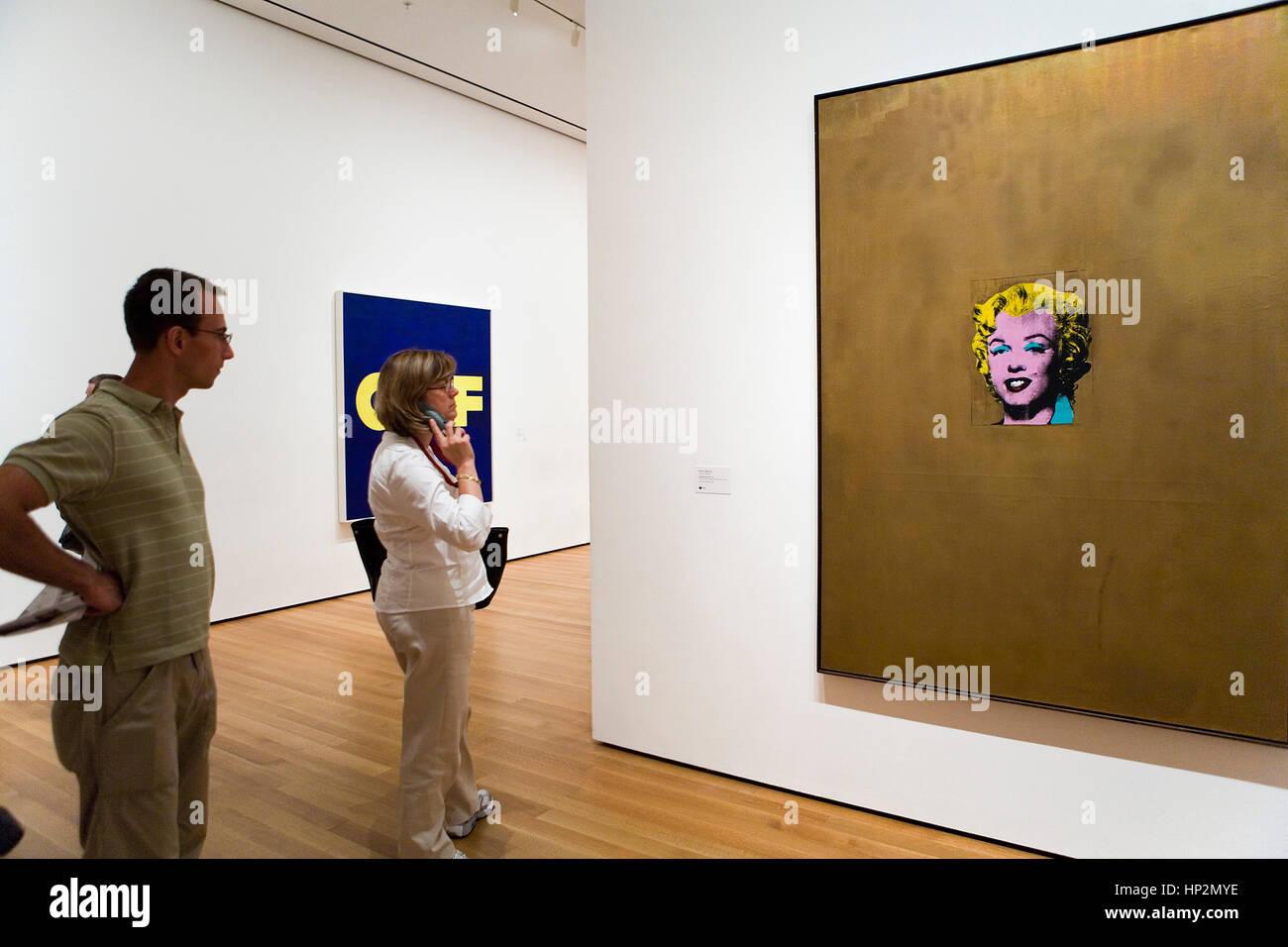 Marilyn Monroe Diptych 1962 Warhol