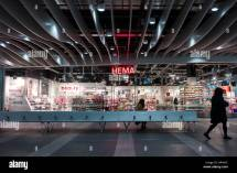 Hema In Birmingham Street Station Stock