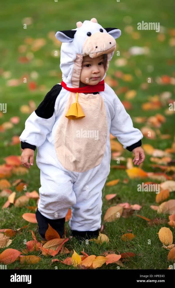 Toddler Cow Halloween Costume