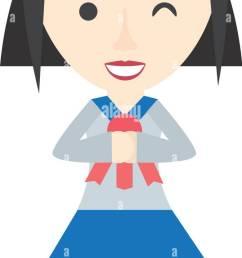 japanese girl student uniform [ 672 x 1390 Pixel ]