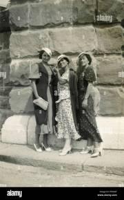 1940s women stock &