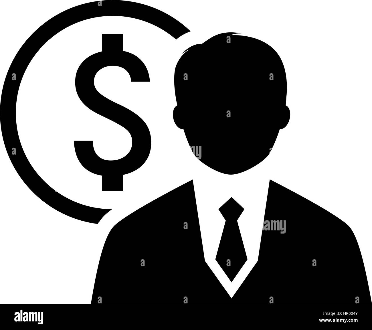 Value Icon Business Concept Flat Design Stock Vector Image Art Alamy
