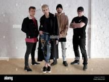 Berlin Germany. 21st Feb 2017. Musicians Band